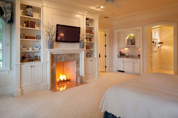 Orlando French Country Master Bedroom