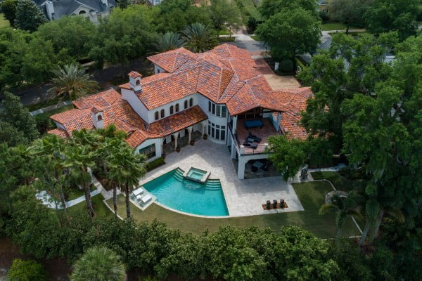 Tuscany Preserve Custom Home Orlando