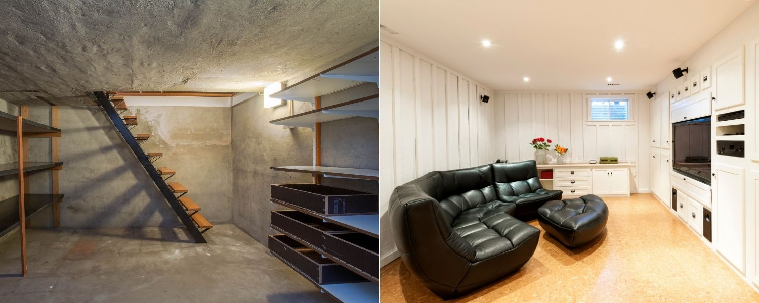 basement remodeling ideas winter park